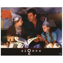 Signs Poster Movie German H 11 x 14 In - 28cm x 36cm Mel Gibson Joaquin Rafael (Leaf) Phoenix Rory Culkin Abigail Breslin Cherry Jones Patricia Kalember
