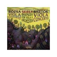 Bartók; Rózsa; Serly: Viola Concertos (Music CD)