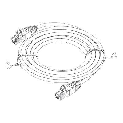 Fast Media Patch Cable - 5 Ft - Blue