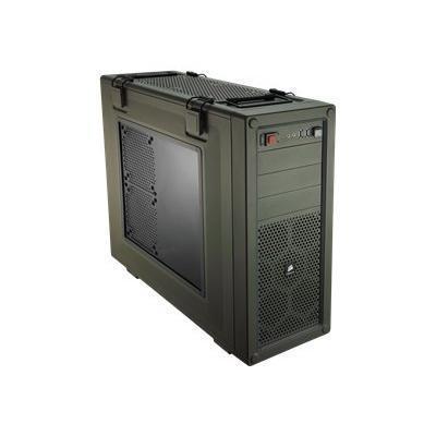 Corsair Memory Cc-9011018-ww Vengeance C70 - Mid Tower - Atx - No Power Supply - Military Green - Usb/audio
