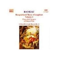 Rameau: Harpsichord Works, Vol 1
