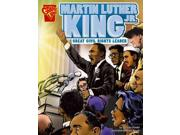 Martin Luther King Jr.: Great Civil Rights Leader (Graphic Biographies) Publisher: Capstone Pr Inc Publish Date: 7/15/2006 Language: ENGLISH Pages: 32 Weight: 1.09 ISBN-13: 9780736864985 Dewey: 323.092