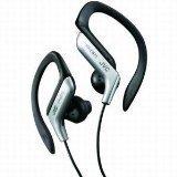 JVC HAEB75S Sports Clip Headphone (Silver)