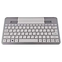 Acer Bluetooth Keyboard (w3-810) - Wireless Connectivity - Bluetooth - English - Compatible With Tablet - Qwerty Keys Layout - Silver Np.kbd11.012