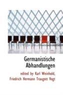 Germanistische Abhandlungen