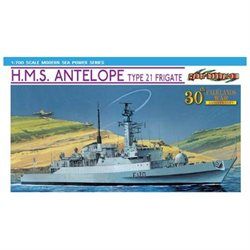 Cyber Hobby 1/700 H.M.S. Antelope Type 21 Frigate - Falklands War 30th Anniversary CYHS7122