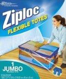 "Ziploc 70162 Flexible Totes, 2.2'. x 16"" x 12"", 22 Gallon"