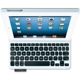 Logitech Keyboard/Cover Case (Folio) for iPad, iPad mini - Carbon Black