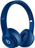 Beats Solo 2.0 Wired On-Ear Headphones (Blue)