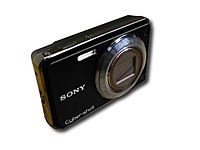 Sony Cyber-shot Dsc-w290/b Black 12.1 Megapixel 5x Optical Zoom Point & Shoot Digital Camera With 3-inch Color Lcd Screen