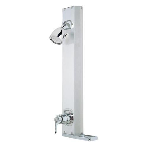 Symmons 1-801-l/hd Hydapipe Single-handle 1-spray Shower Faucet In Chrome