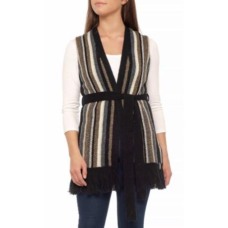 Shetland Fringe Vest (for Women)