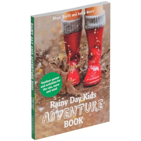 Rainy Day Kids Adventure Book, Paperback
