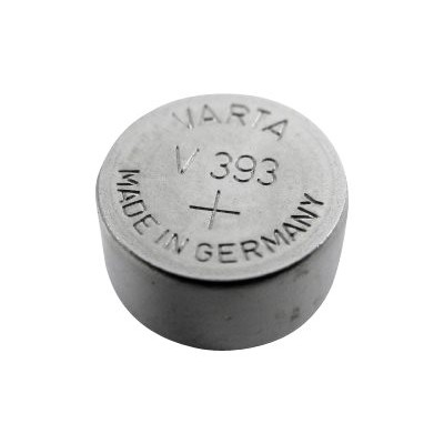 Lenmar Wc393 Sr48w - Battery 393 Button Cell Silver Oxide 75 Mah - Silver