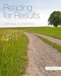 READING FOR RESULTS, 11e, is the mid-level text in the ever-popular reading series by Laraine Flemming, which includes READING KEYS (beginning level) and READING FOR THINKING (advanced level)