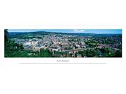 Bath, England  Panoramic Poster Print