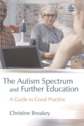 This guide for professionals working with students with autism spectrum conditions (ASCs) in further education meets the increasing demand for information and support on this subject.Christine Breakey provides useful guidelines and practical advice on teaching young adults successfully and confidently, emphasising the development of resources and practical skills for use specifically in FE colleges