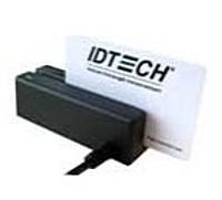 Id Tech Minimag 2 Idmb-334112b Usb Keyboard Emulation 2-track Magstripe Reader - Black