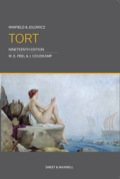 Winfield & Jolowicz on Tort is the leading textbook on the law of tort