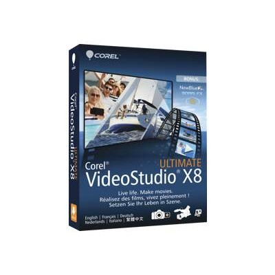 Corel Vsprx8ulmlmbam Videostudio Ultimate X8 - Box Pack - 1 User - Dvd ( Mini-box ) - Win - Multilingual