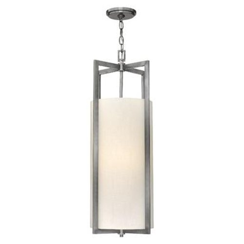 Hampton Four Light Mini Foyer Pendent - Finish: Antique Nickel
