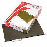 Hanging File Folders, 1/3 Tab, Legal, Standard Green, 25/Box