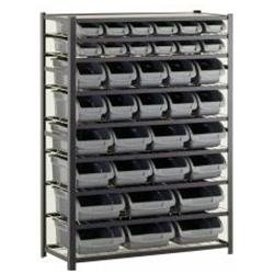 Sandusky Thirty Six Bin Black Industrial Storage Rack