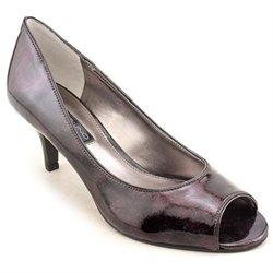 Bandolino Shelley Womens Black Peep Toe Pumps Heels Shoes