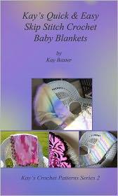 Quick & Easy Skip Stitch Crochet Baby Blankets