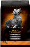 Purina Pro Plan Dry Dog Food, Savor, Shredded Blend Adult Chicken & Rice Formula, 35-Pound Bag, Pack of 1
