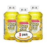 Clorox 35419 Pine-Sol Lemon Fresh All-Purpose Cleaner Bottle,144-Ounce (3-Pack)