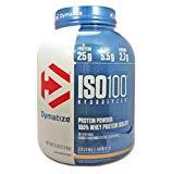 Dymatize ISO 100 Hydrolyzed Whey Protein Isolate, Gourmet Vanilla 5 Pound