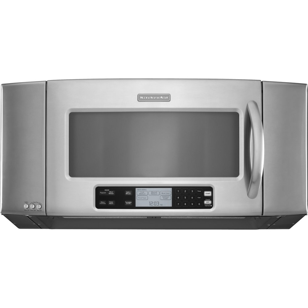 KitchenAid Architect II KHMS2056SSS Microwave Oven - 2 ft - 1.20 kW - Stainless Steel