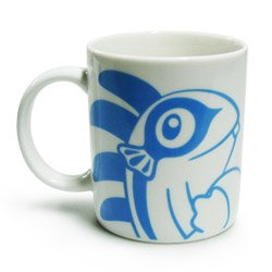 Blizzard Hello Murky Murloc Coffee Mug Blue Version