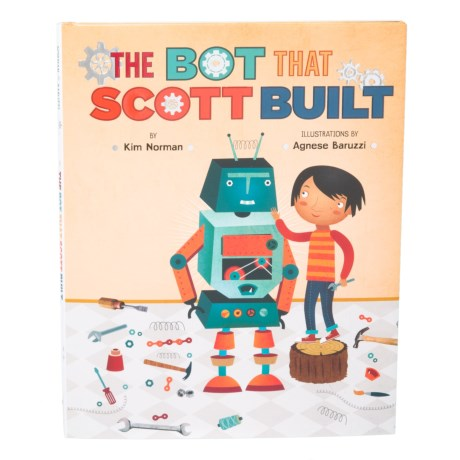 The Bot That Scott Built, Kids Hardcover Book