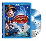 Pinocchio (Two-Disc 70th Anniversary Platinum Edition Blu-ray/DVD Combo   BD Live) [Blu-ray]