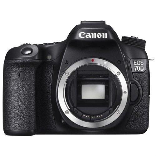 Canon EOS 70D 20.2 Megapixel Digital SLR Camera Body Only - Black - 3
