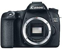 Canon Eos 8469b002 70d 20.2 Megapixels Digital Slr Camera - Body Only - 3-inch Lcd Display - Black
