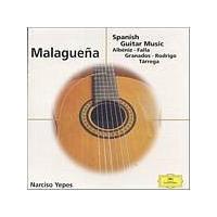 Albeniz/Rodrigo/Granados/De Falla - Malaguena - Spanish Guitar Music (Music CD)