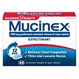 Mucinex Expectorant - Maximum Strength - 48 ct.