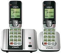 Vtech Cs6519-2 2 Handset Cordless Phone With Caller Id/call Waiting - Dect 6.0