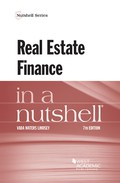 This work presents a thorough overview of the law of real estate finance