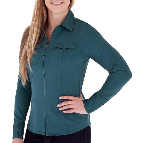 Royal Robbins Ponte Zip Shirt Jacket - UPF 50 , Long Sleeve (For Women)