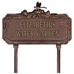 Personalized Lawn Garden Sign
