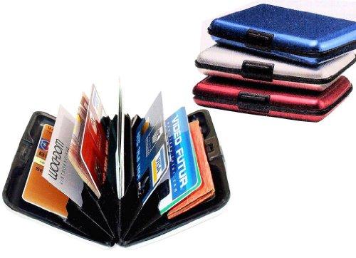 Aluminum Credit Card ID Holder / Wallet, Light Weight - SILVER