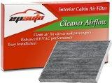 EPAuto CP819 (CF11819) Hyundai / Chevrolet / GMC / KIA / Saturn Premium Cabin Air Filter includes Activated Carbon