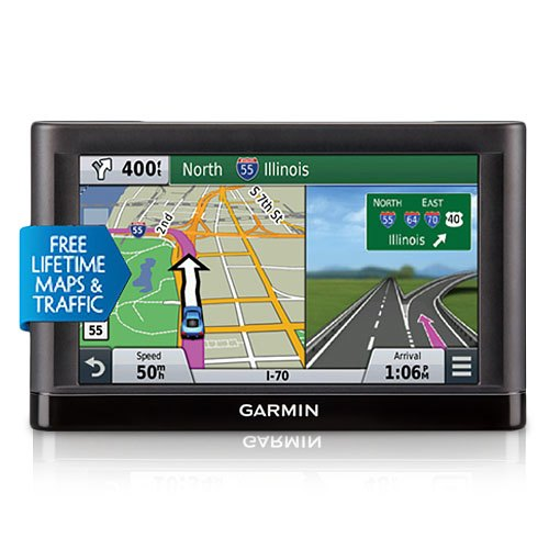 Garmin Nuvi 65LMT 6 inch GPS with Lifetime Maps and Traffic Updates