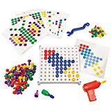 Educational Insights Design & Drill Activity Center - Perfect STEM Toy for Age 3-6 with Kid Friendly Working Drill