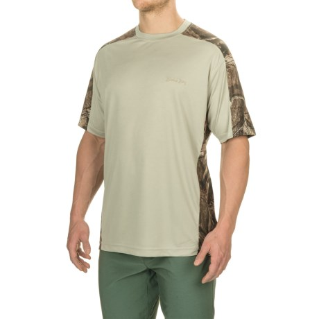 Pieced Camo T-shirt - Upf 30, Short Sleeve (for Men)