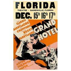 Grand Hotel Poster Movie D 11 x 17 In - 28cm x 44cm Greta Garbo John Barrymore Joan Crawford Lewis Stone Wallace Beery Jean Hersholt